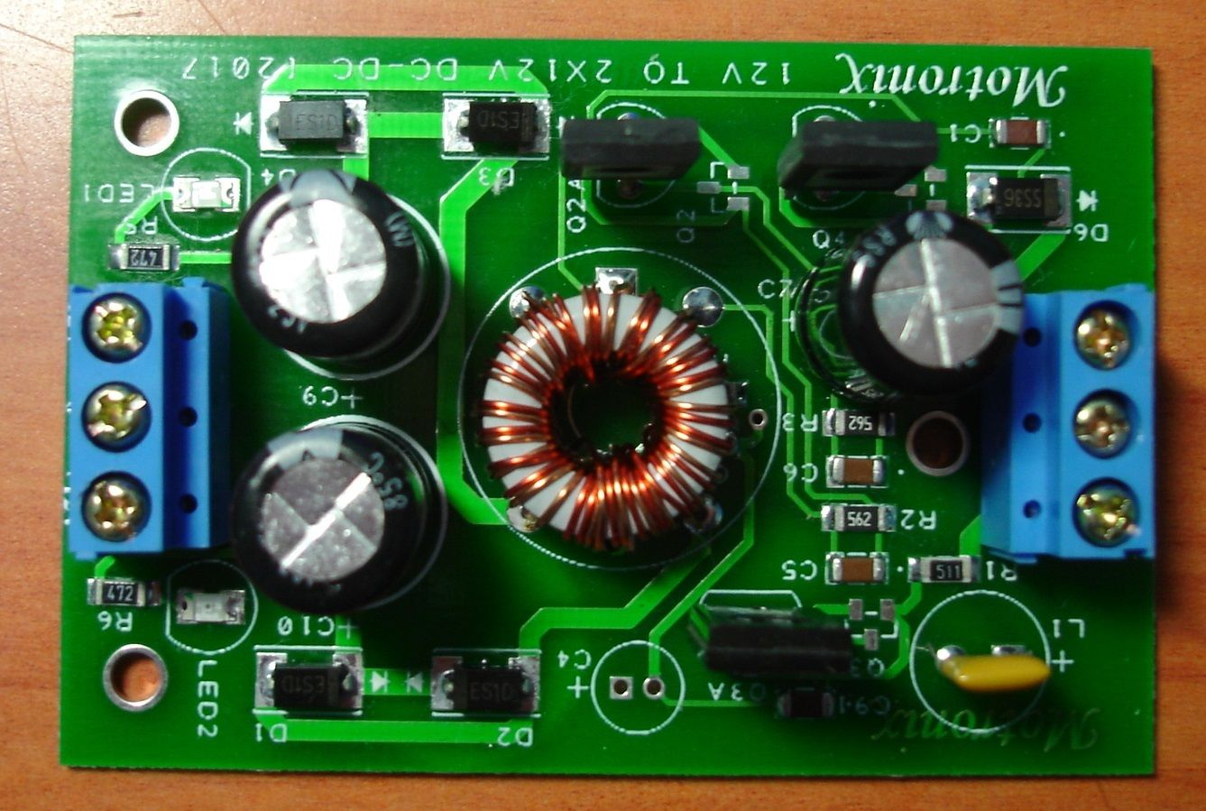 12v Dc To Dual 1a Converter For Car Audio Design I O Circuit Schematic Diagram Isolated Ground Motronix